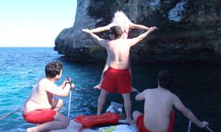 Stag/hen parties aboard Majorca