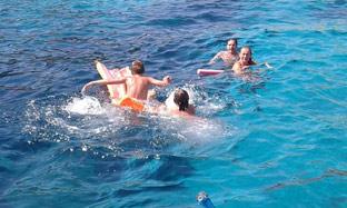 Boat trip in majorca