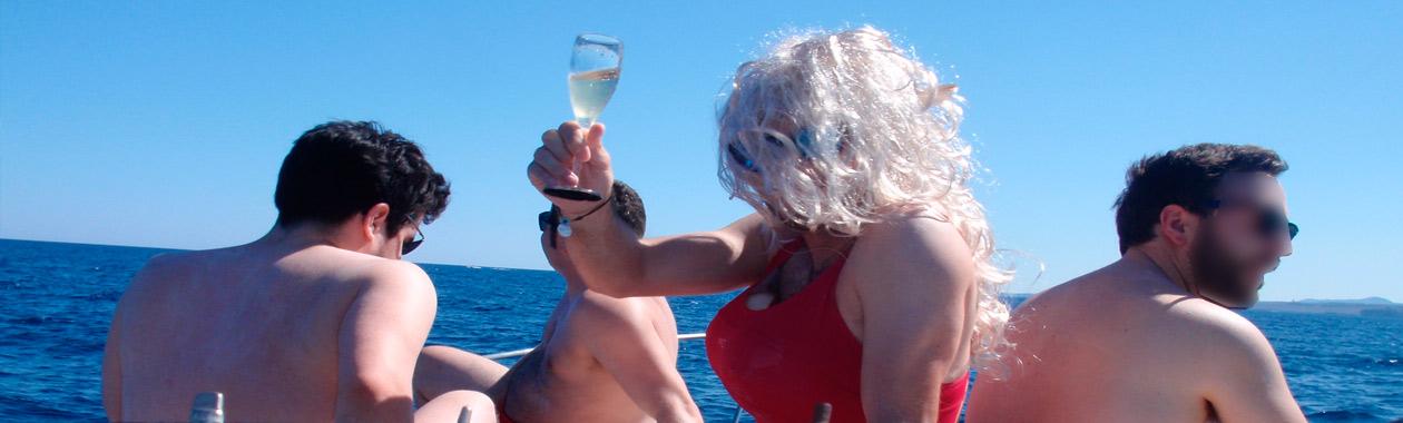 despedidas de soltero mallorca en barco